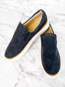 Slip On Suede Sneakers (Multiple Colors)