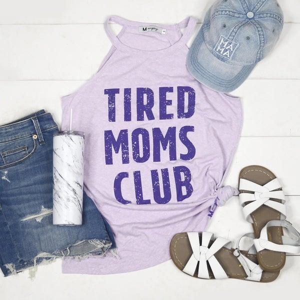 Tired Mom's Club Rocker Tank
