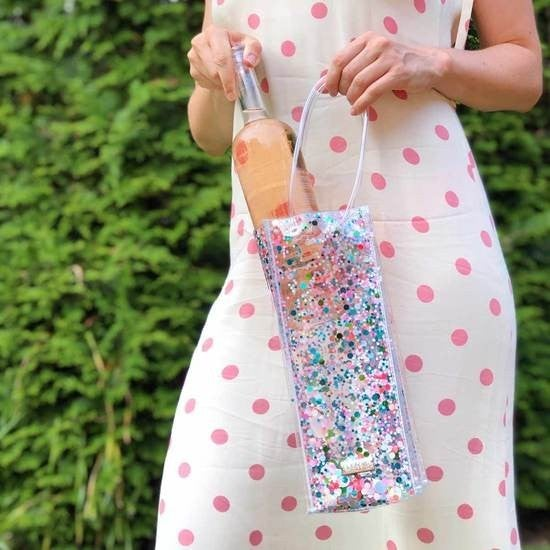 Sugar Rush Confetti Wine Bag