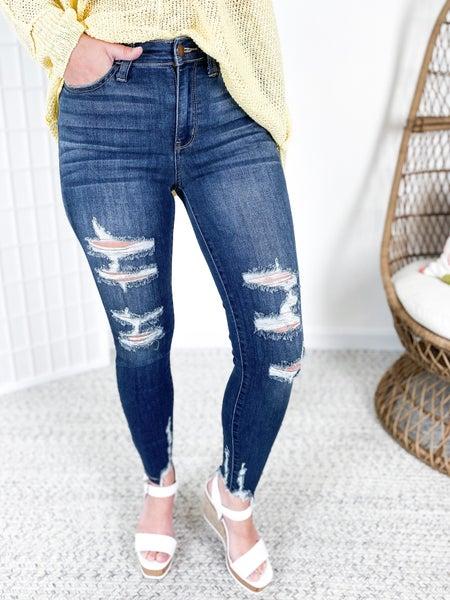 PLUS/REG Judy Blue Spring Lovin' Jeans (THE BEST)