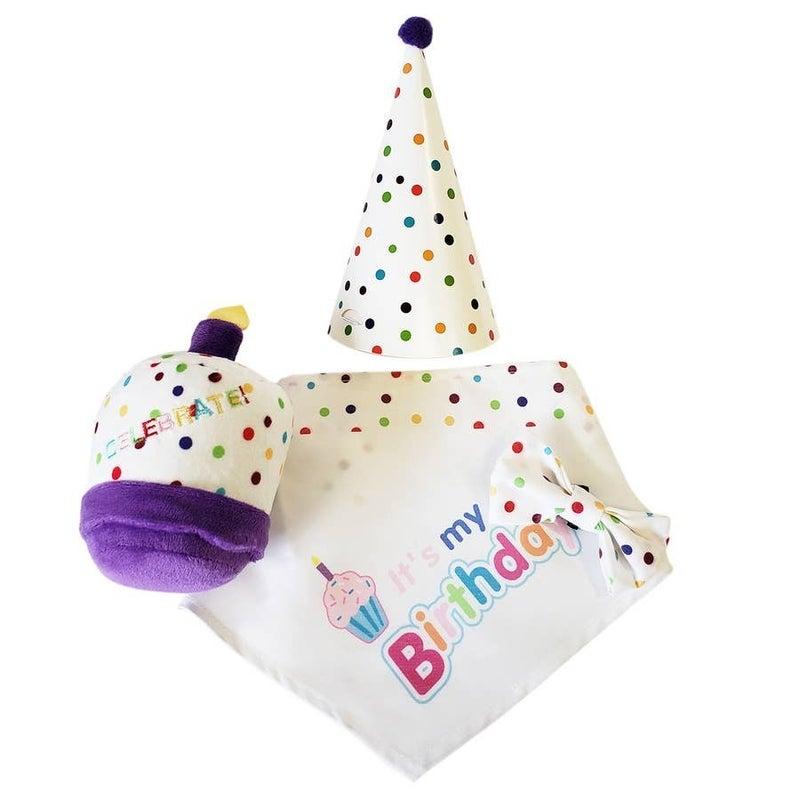 4pc Pet Birthday Set