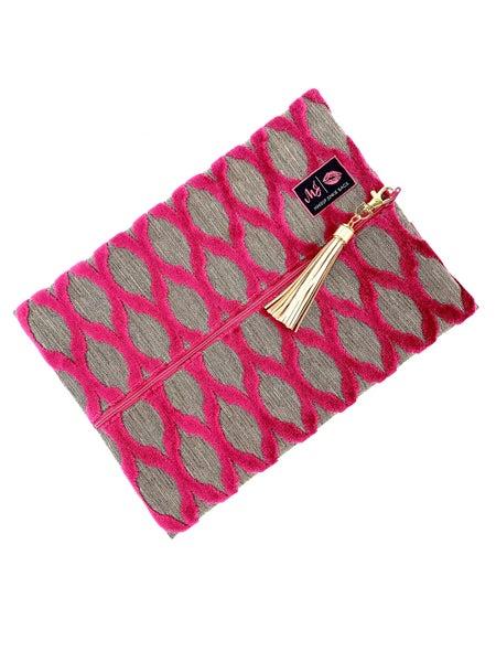Duchess Pink Makeup Junkie Bags