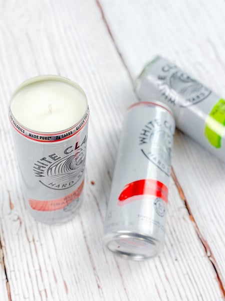 Upcycled White Claw Candles (Multiple Options)