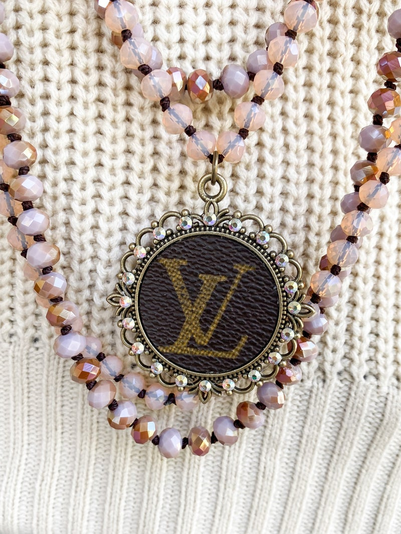 *Keep It Gypsy Upcycled LV Layered Necklaces