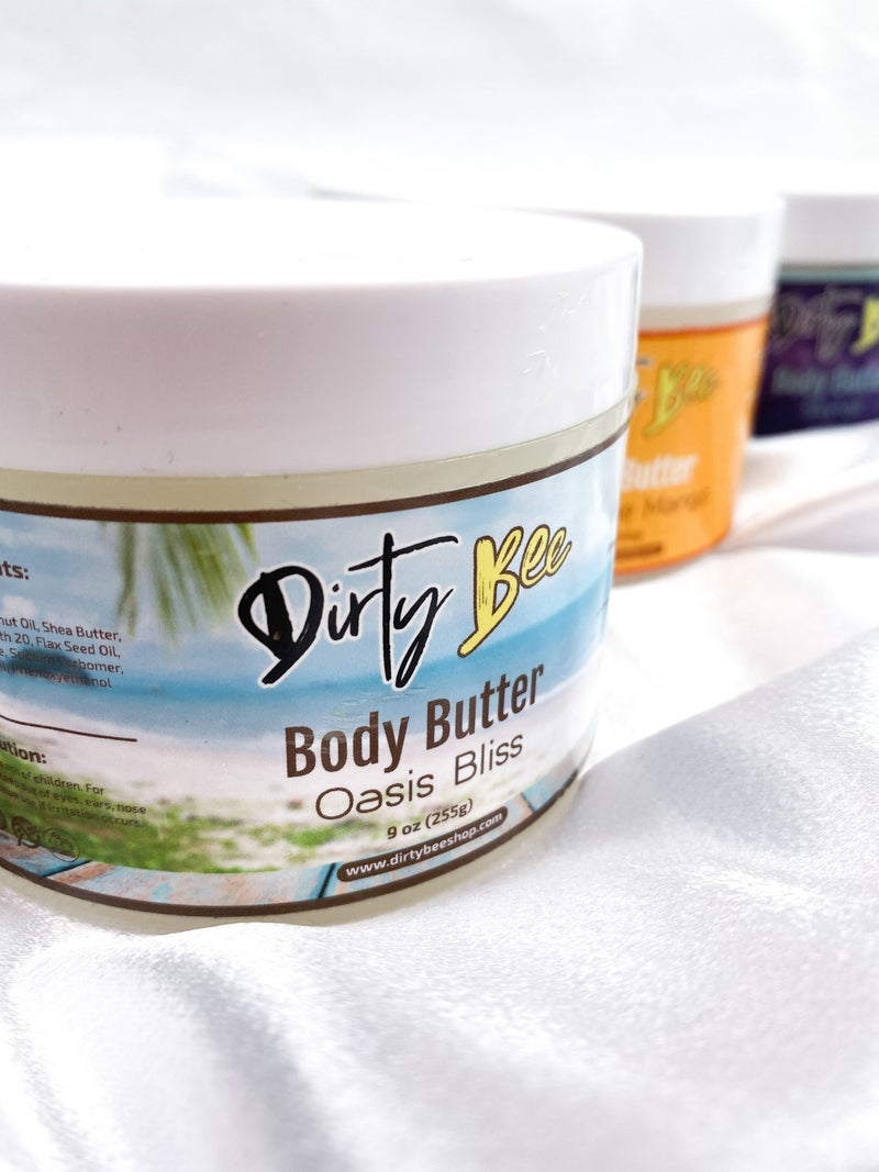 RESTOCK & NEW SCENTS!! Dirty Bee 9oz Body Butters (Multiple Scents)