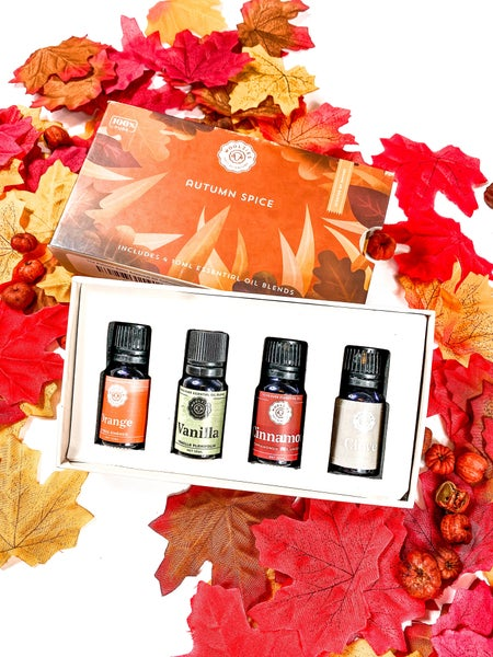 The Autumn Spice Essential Oil Collection