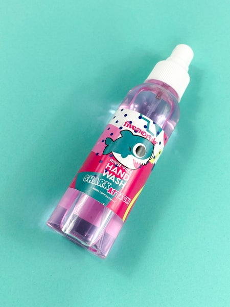 Five2ndRule Shark Attack Rinse-Free Hand Wash