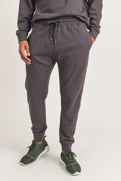 Men's Solid Cotton Jogger Pant (Multiple Colors)
