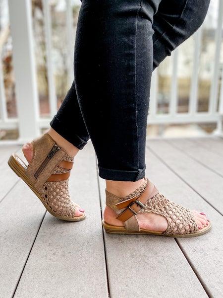 Blowfish Woven Sandals (Multiple Colors)