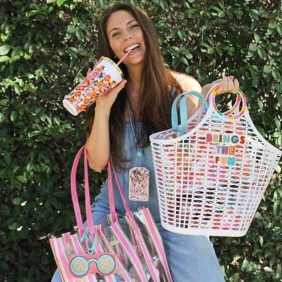 Brings The Fun Jelly Tote