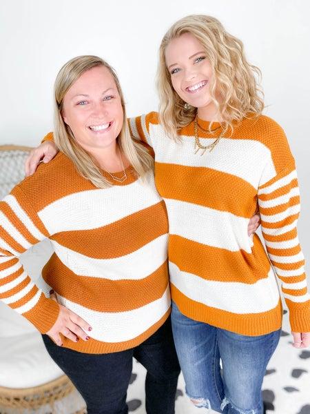 Doorbuster! Zenana Multi Stripe Sweater (Multiple Colors)