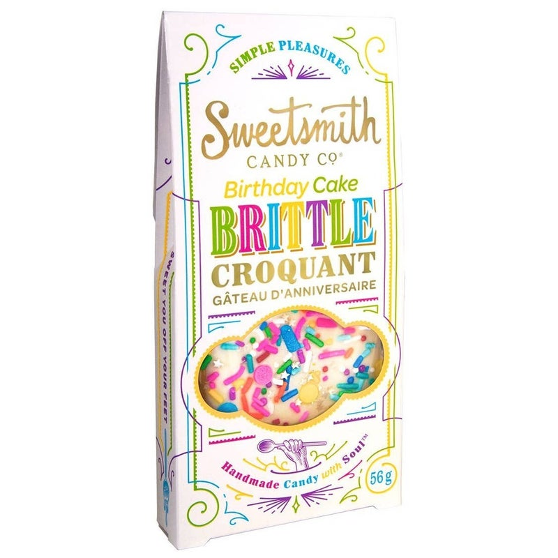Sweetsmith Brittle Candy Bar (Multiple Flavors)