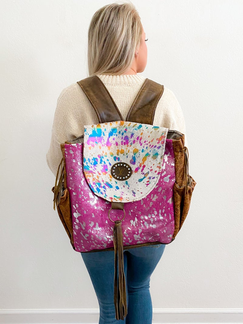 Keep it Gypsy authentic upcycled LV EPIC Backpack