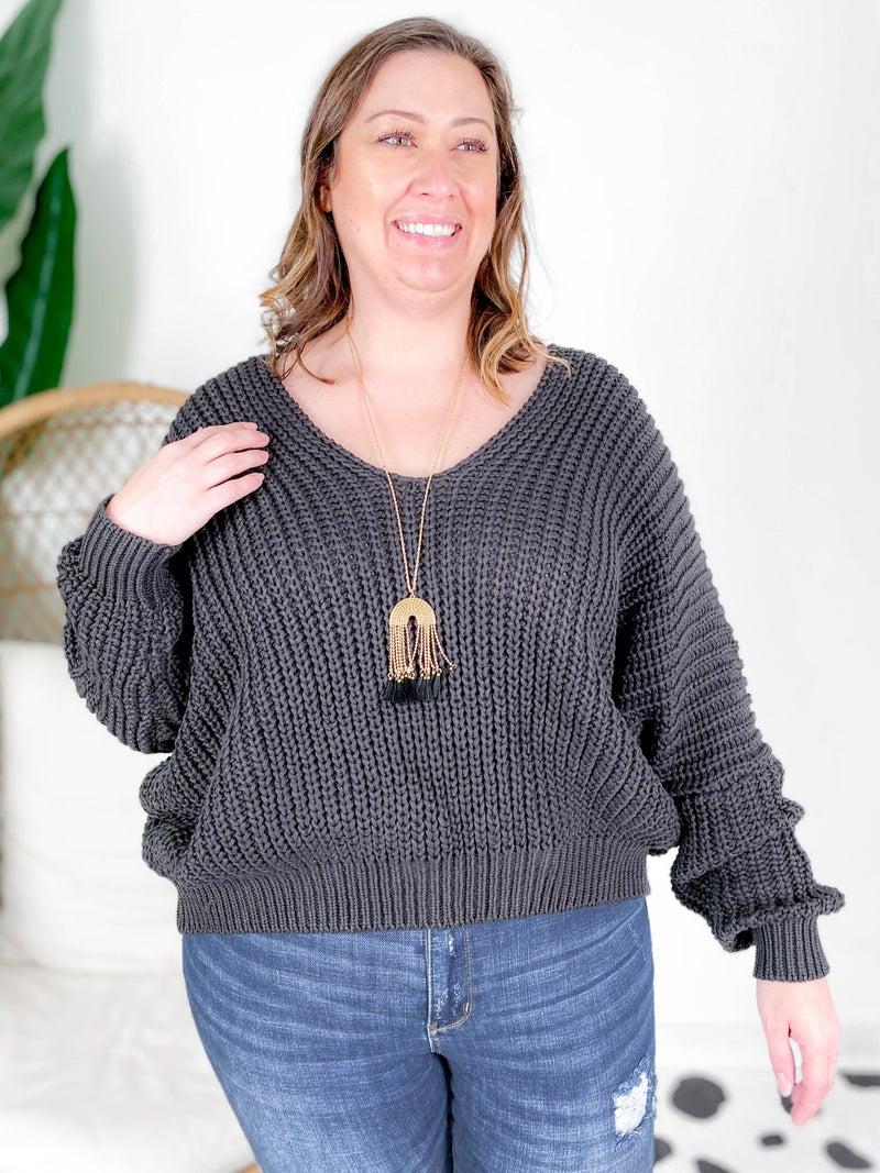POL Cozy Knit Sweater (Multiple Colors)