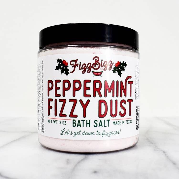 Peppermint Fizzy Dust Bath Salts