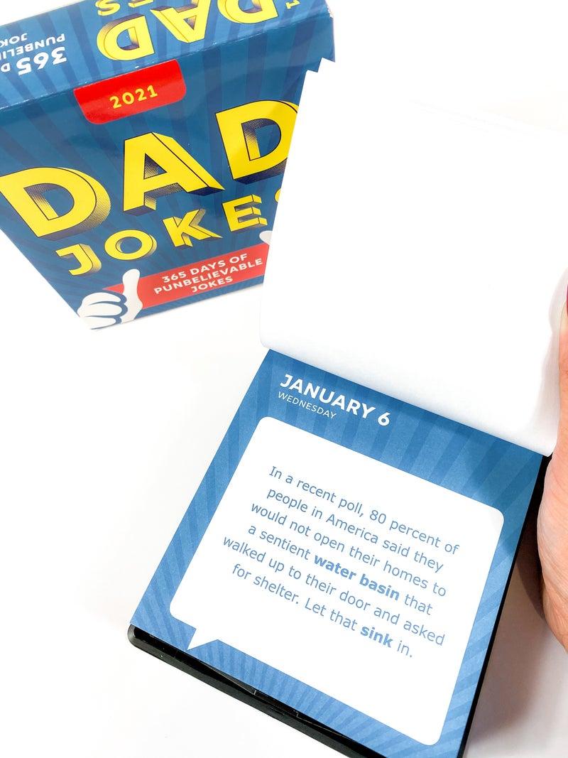 2021 Dad Jokes Boxed Calendar