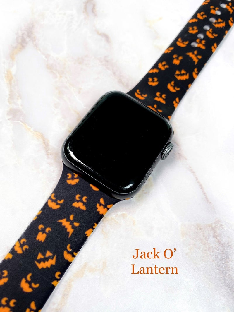 Halloween Silicone Apple Watch Bands (Multiple Colors)