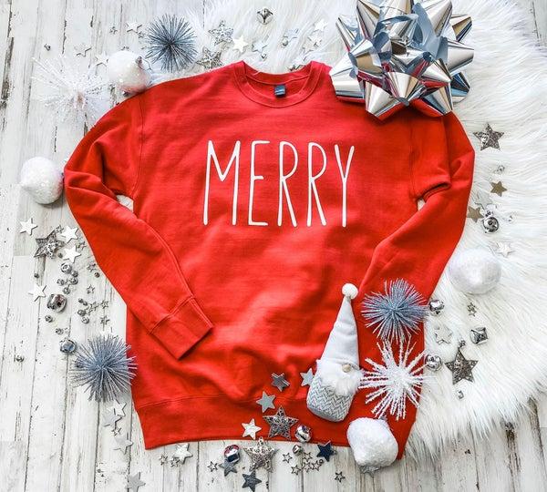 Merry Sweatshirt