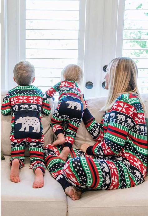 Family Matching Flap Jack Pajamas