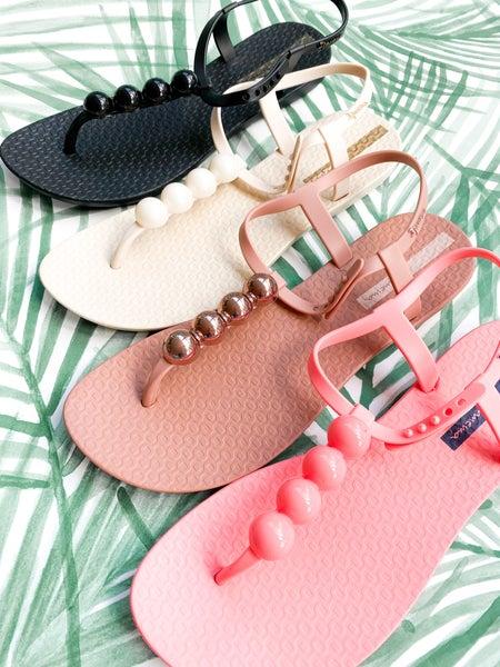 Ipanema Pearl T-Strap Sandal (Multiple Colors)