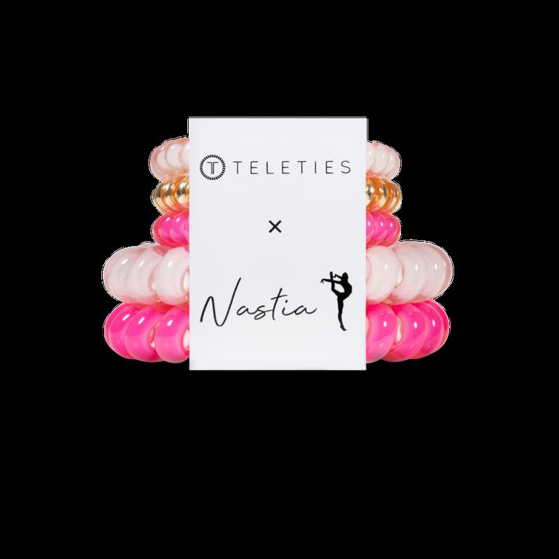 Teleties x Nastia Liukin Hair Ties - 5 Pack