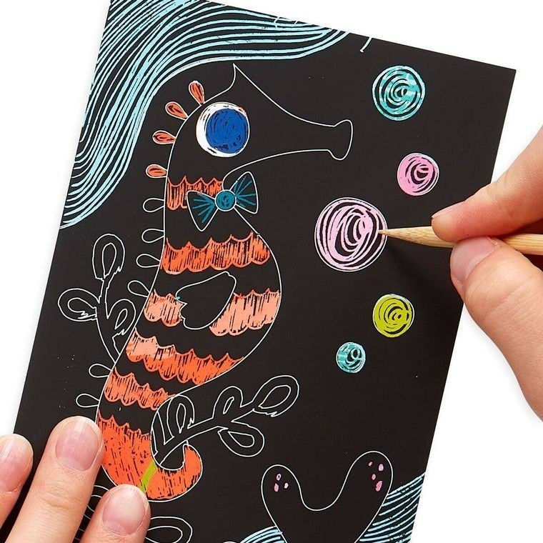 Mini Scratch & Scribble Art Kit (Multiple Options)