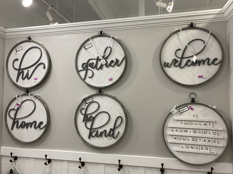 BIG Round Reversible Letter Board 22x22 (Multiple Options)