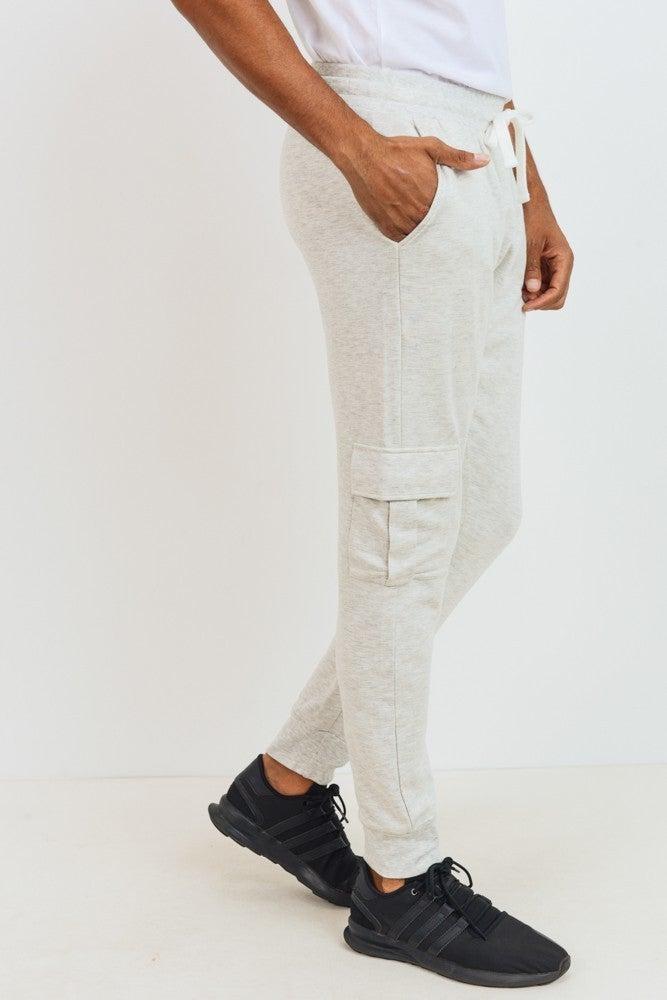 Men's Cargo Jogger Pants (Multiple Colors)
