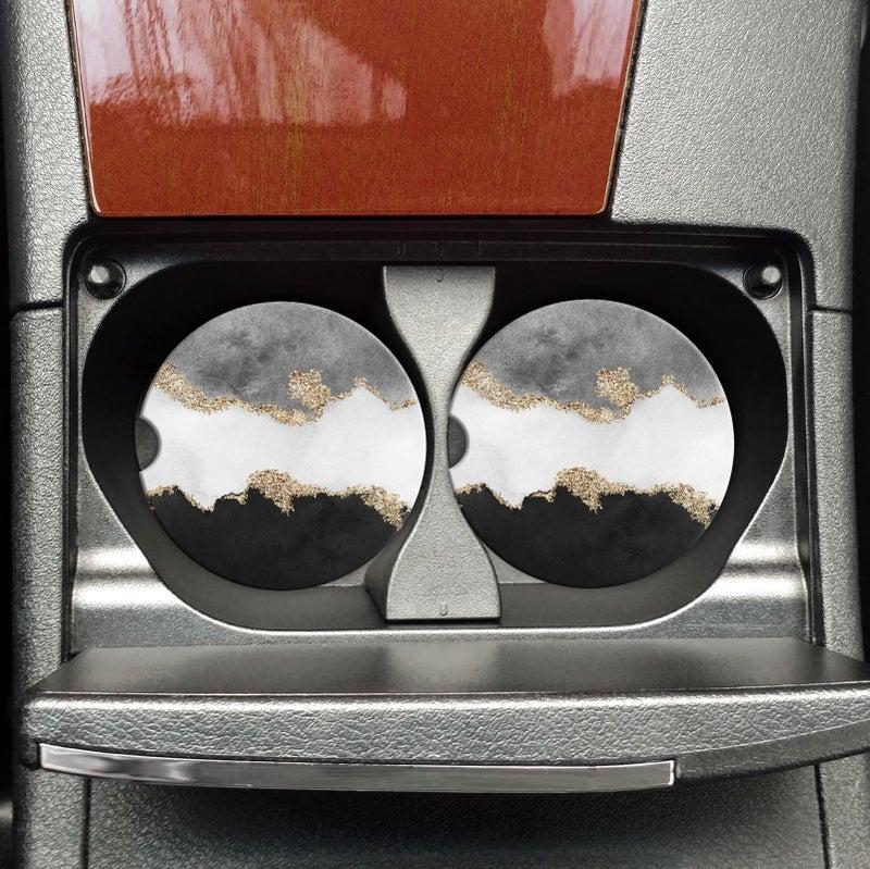 Car Coasters - Set of 2 (Multiple Options)