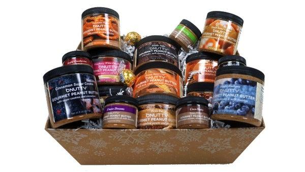 Gourmet Peanut Butter Assorted Gift Baskets (Multiple Options)