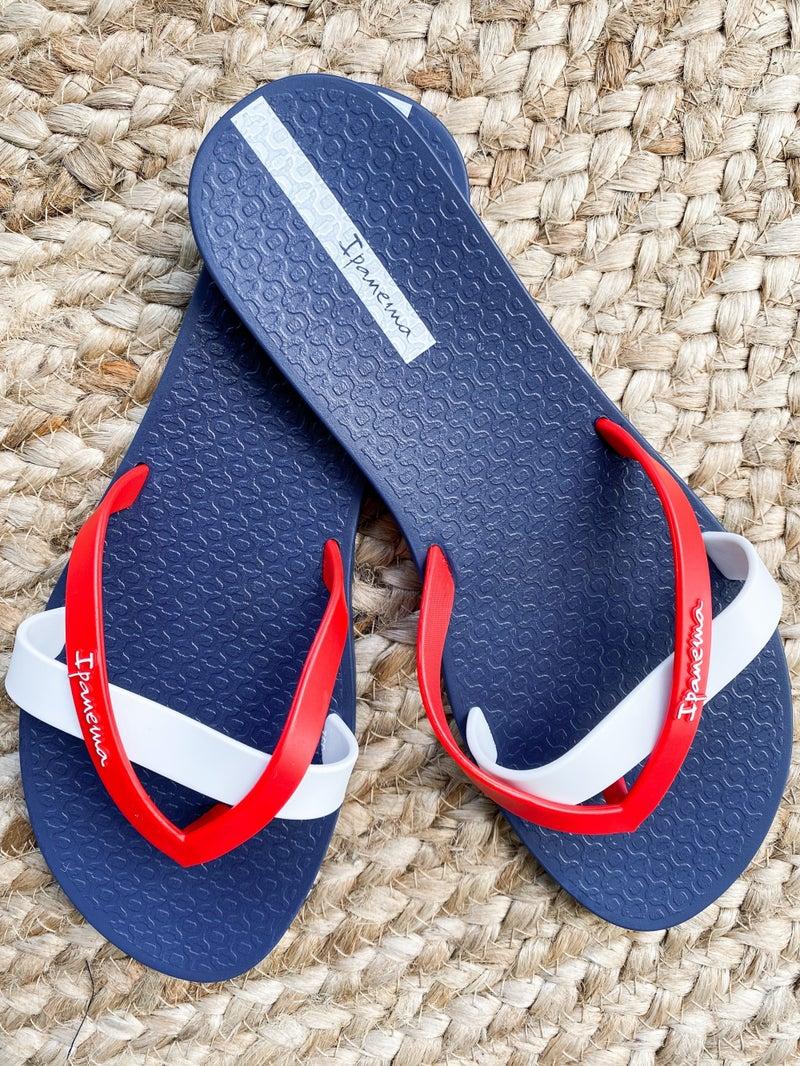 Ipanema Cross Strap Flip Flop (Multiple Colors)
