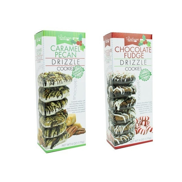 Holiday Drizzle Cookies (Multiple Flavors)