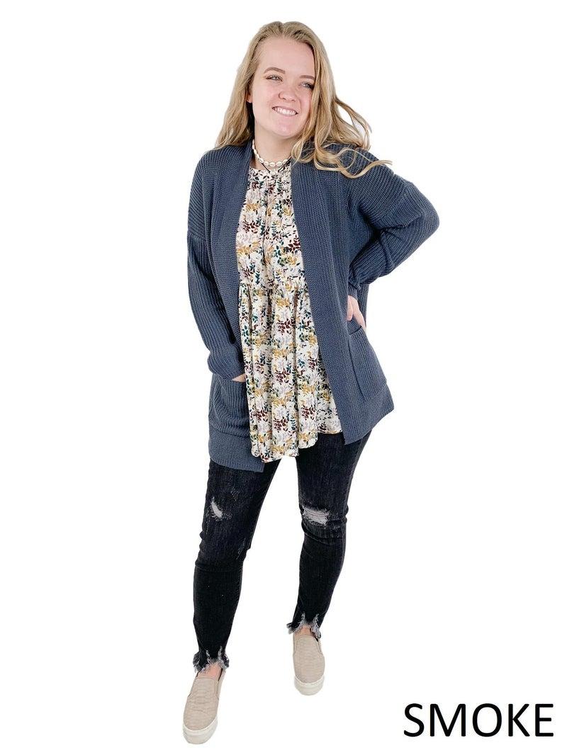 Lightweight Knit Cardigan (Multiple Colors)