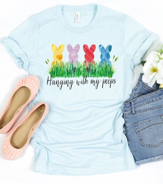 Hanging With My Peeps Graphic Tee