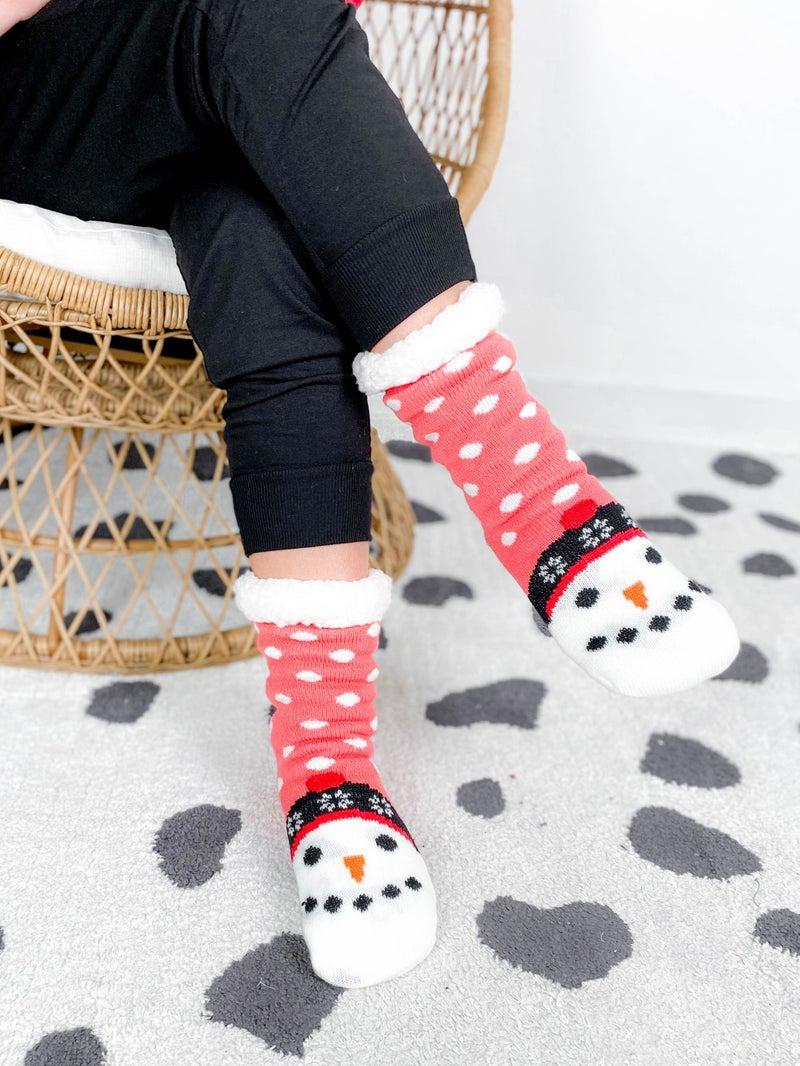 POPPY DAY Mystery Adult Christmas Socks