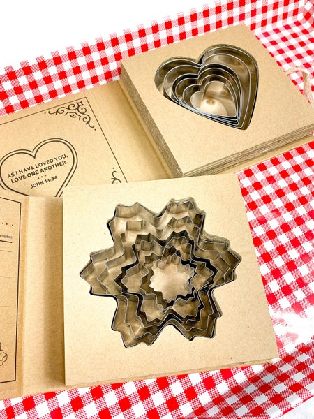 Holiday Cookie Cutter Set (Multiple Options)