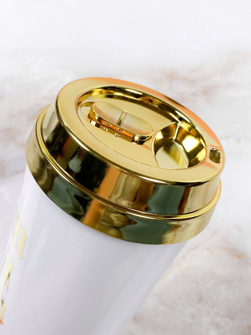 Gold Mama Travel Latte Cup