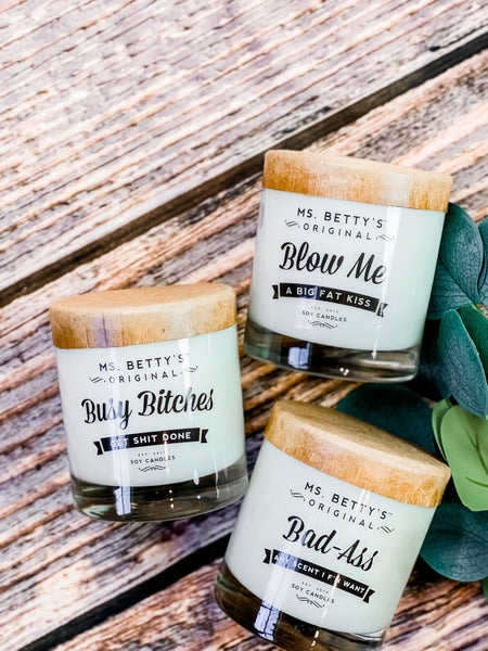 SNARKY SOY CANDLES! (Multiple Options)