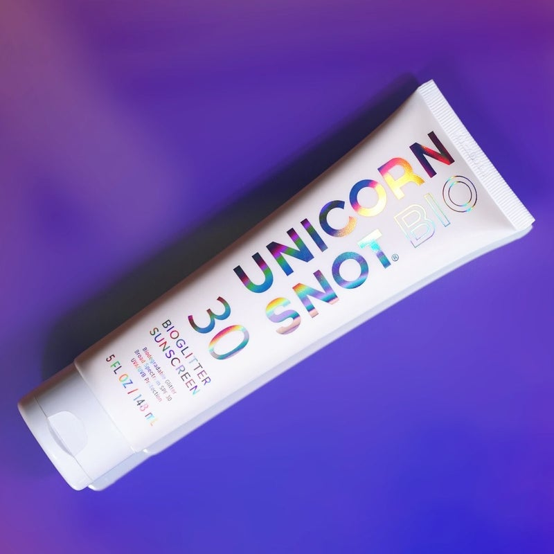 Unicorn Snot Glitter Sunscreen (Multiple Colors)