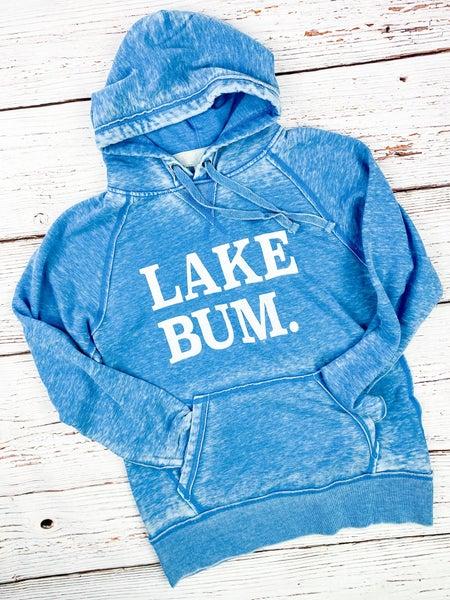 Acid Wash Lake Bum Sweatshirt