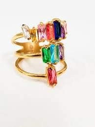 RESTOCK & New Color Triple Stacking Rings (Multiple Colors)