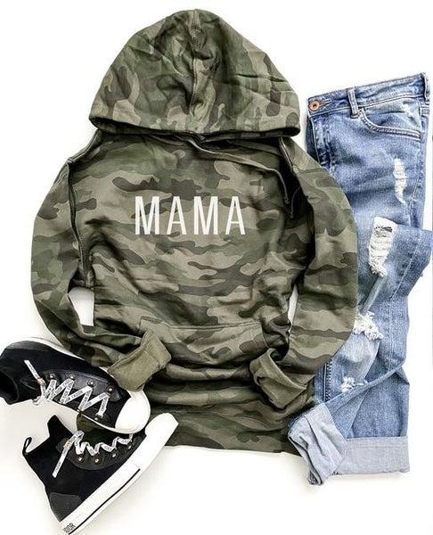 Camo mama sweatshirt