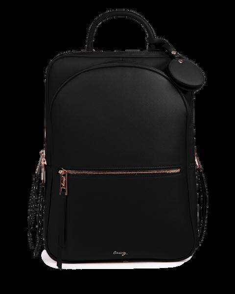Black Paris Travel Backpack