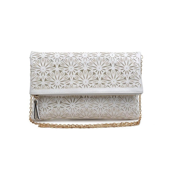 Skylar Vegan Leather Clutch (Multiple Colors)