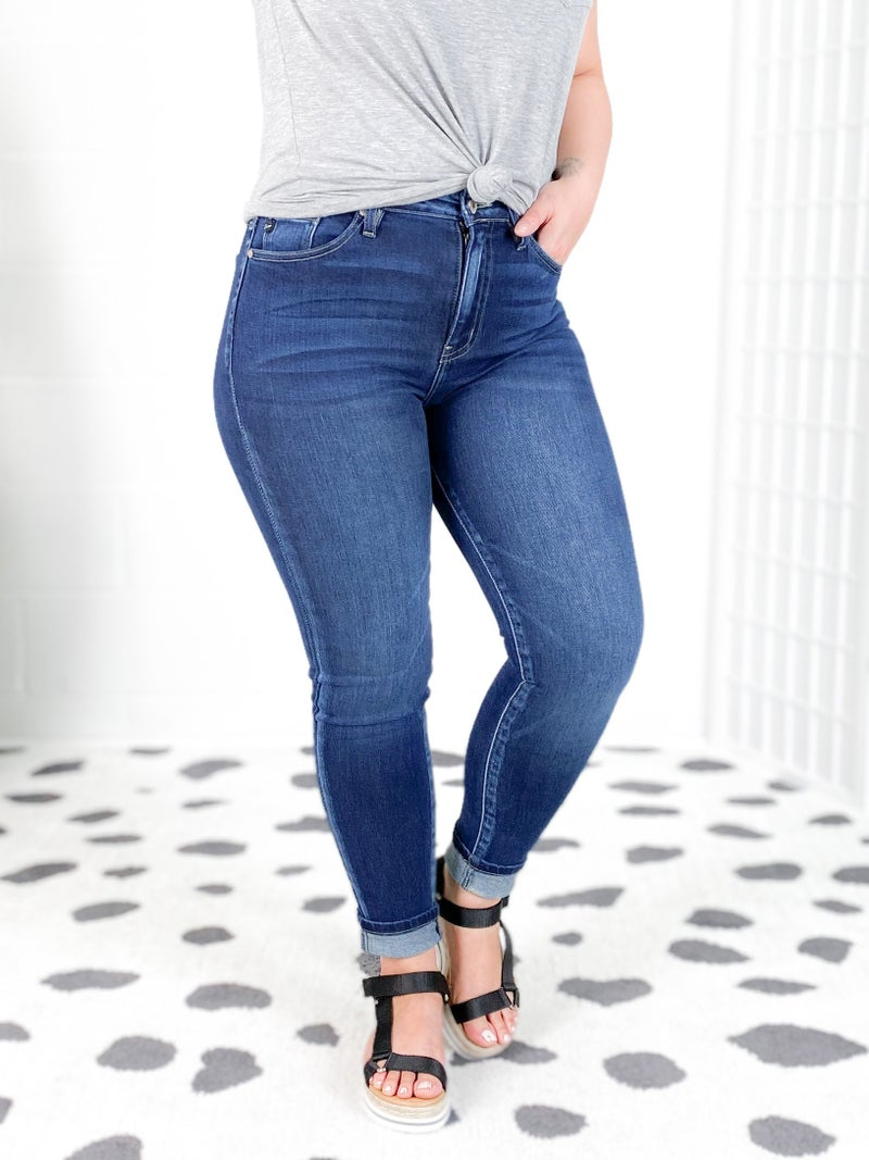 Kancan Starry Night High Rise Non-Distressed Skinny Jeans