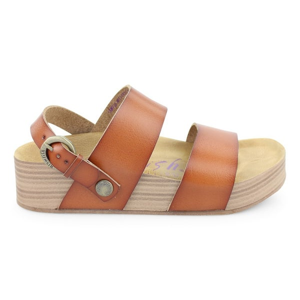 Blowfish Convertible Platform Cushioned Sandals With Buckle