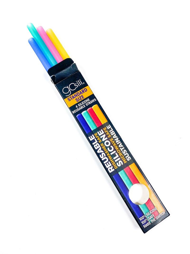 POPPY DAY Standard Reusable Straw 4 Pack