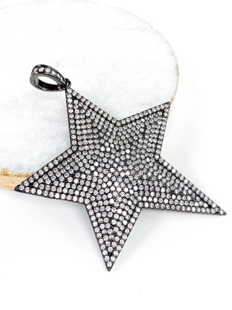 Karli Buxton Pave Star Pendant
