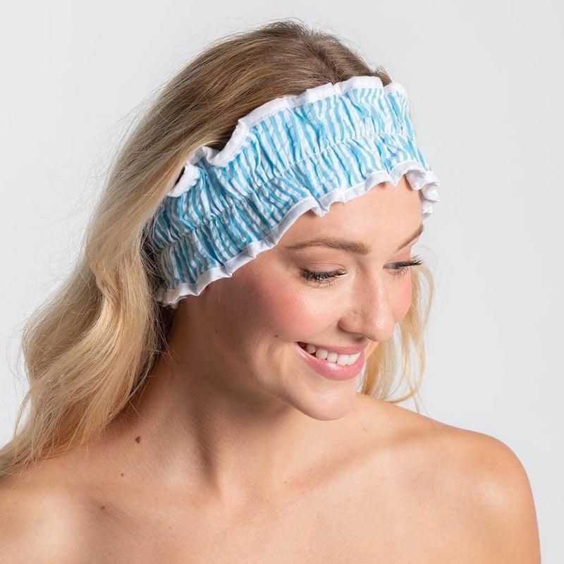 Seersucker Spa Headband (Multiple Colors)