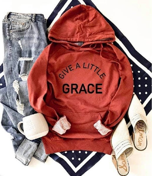 Give a little grace hoodie